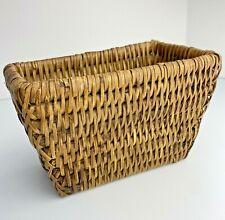 """Wicker Basket 6""""x3""""x4"""" Storage Nicnaks"""