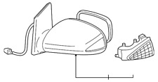 Genuine Toyota Mirror Assembly 87910-52740-B0