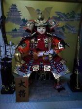 Japanese Samurai Warrior Doll with Music