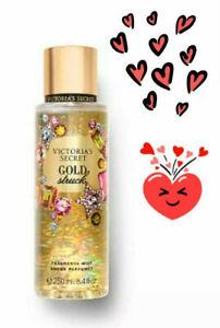 VICTORIA'S SECRET GOLD STRUCK FRAGRANCE BODY MIST SPRAY 8.4 Fl Oz / 250 ml NEW