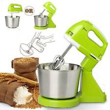 7 Speed Multi Stand Mixer Cake Food Mixing Bowl Beater Dough Electric Blender