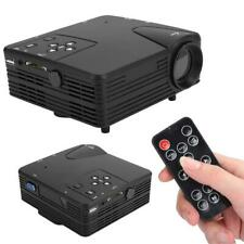 1080P Mini LED Projector Home Theater Cinema Portable Multimedia HDMI VGA USB