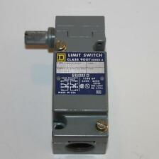 Square D 9007C62B2 Limit Switch Series A 9007 C6282 Used in Electrical Classroom