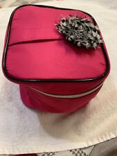 LANCÔME NEW TRAIN CASE SET COSMETIC MAKEUP BAGS PIECE PINK TRAVEL