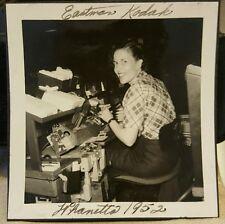 VINTAGE EASTMAN KODAK PHOTO LAB CHICAGO 1952 VERNACULAR PHOTOGRAPHY SNAP PHOTO