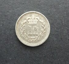 More details for william iiii old english silver three half penny coin dated 1834 gvf