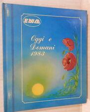AGENDA OGGI E DOMANI 1983 INA Manuale Economia Domestica Donna Femminile di e
