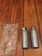 "(2)Vintage Nos 26T BMX Freestyle Threaded Axle  Pegs-4 Inch-For 3/8"" Axle"