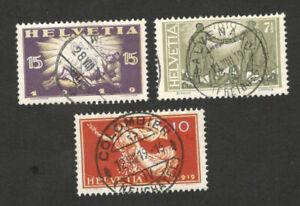 SWITZERLAND - USE SET - PEACE CELEBRATION -1919.