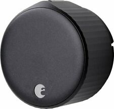 August - Wi-Fi Smart Lock (4th Gen) - Matte Black