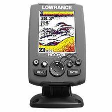 Lowrance Hook-3X Fishfinder with 83/200 Transducer Depth Finder Fish Locator