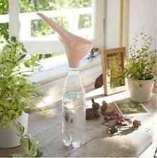 Pink Water Funnel Spout Pour Bottle Garden Outdoor Indoor Plants Kitchen Herbs