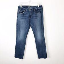 American Eagle Skinny Stretch Jeans Size 12 Short Med Wash Womens Denim AE