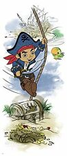 Disney Jr. CAPTAIN JAKE and the NEVERLAND PIRATES wall sticker MURAL BIG decal
