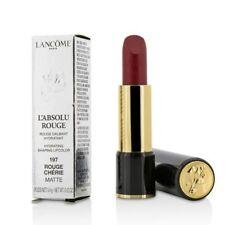 Lancome Paris L'Absolu Rouge Lipstick, 197 Rouge Cherie Matte, 3,4g
