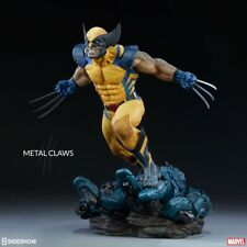 SIDESHOW Marvel Wolverine Premium Format Figure Statua X-Men 1/4 NUOVA
