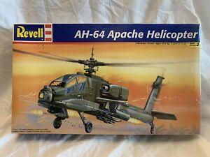 "MODEL KIT REVELL AH-64 APACHE HELICOPTER 1:48  ""NEW SEALED"""
