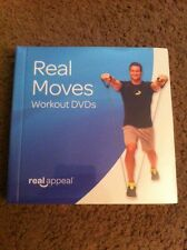 BRAND NEW SEALED Real Moves Workout DVDs by Real Appeal 2015 Cardio Abs