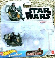 **NEW Hot Wheels Star Wars Starships - DARTH MAUL'S SPEEDER VHTF Disney Mattel