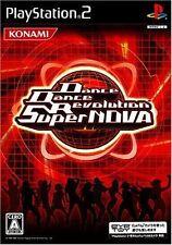 Used PS2 Dance Dance Revolution Super NOVA KONAMI SONY PLAYSTATION JAPAN IMPORT