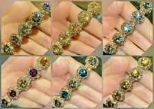 Women's Girls Pearl Hair Clips crystals Hair Clips Rhinestones French Clips