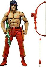 """NECA 7"""" Classic Video Game Appearance Rambo First Blood Part 2 - Action Figure"""