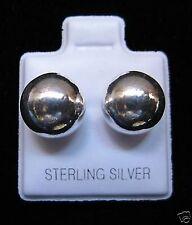 10mm Sterling Silver Ball Stud Earrings