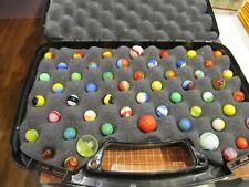 MARBLES:  52 VINTAGE AKRO AGATE,MASTER MARBLE & MORE
