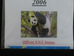 ~ WWF ~ 2006 SETS OF FDC's in PRISTINE CONDITION ~ PRICED TO SELL *PLUS DISCOUNT