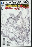 HARLEY QUINN APRIL FOOLS SPECIAL 1 VARIANT SKETCH NM LEE