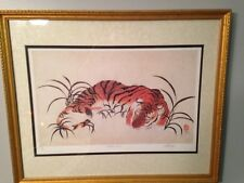 """Tiger """"Watch Out"""" Print by Wenger Burton"""
