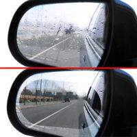 Oval 1Pair Car Auto Anti Fog Rainproof Rearview Mirror Protective Film Accessory