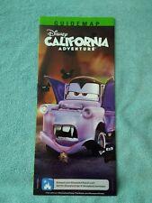 Disney California Adventure Halloween 2017 Theme Park Map Disneyland