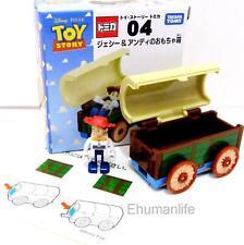 Takara Tomy Tomica Disney Toy Story 04 Jessie and Carriage Car Diecast 4