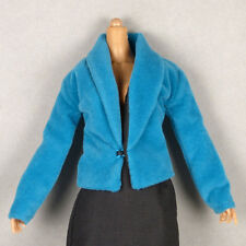 1/6 Scale Cy Girl, Kumik, ZC, TTL, Vogue - Female Petite Aqua Blue Velvet Jacket
