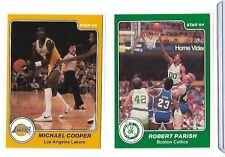 1983-84 Star #15 Michael Cooper Los Angeles Lakers Basketball Card