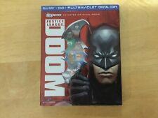 Justice League: Doom (Blu-ray) w/ slipcover No Dvd