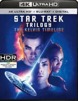 Star Trek Trilogy Collection [New 4K UHD Blu-ray] With Blu-Ray, 4K Mas