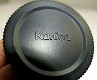 Konica AR Rear Lens Cap for 50mm f1.4  57mm Hexanon manual focus