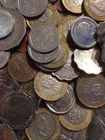100 Gramm Restmünzen/Umlaufmünzen Jamaika
