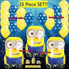 25 pcs. Despicable ME Minion Foil Balloon! Large Party Decoration! Minions latex