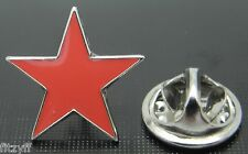 Red Star Lapel Pin Badge Five-pointed Pentagram Communism Communist Symbol