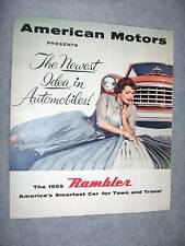 1955 AMERICAN MOTORS RAMBLER BROCHURE