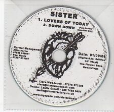 (DS893) Sister, Lovers of Today / Down Down - 2008 DJ CD