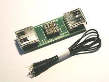 USB Mess und Prüf Adapter  Typ A    - clever prüfen -   230457-IC