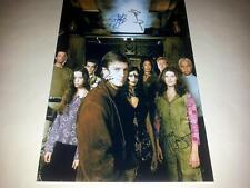 """FIREFLY CAST X5 PP SIGNED POSTER 12""""X8"""" SERENITY JOSS WHEDON"""