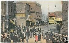 CARTOLINA d'Epoca: JUDAICA postcard JERUSALEM - JAFFA