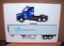 EDWARD BROS Kenworth Semi Truck Refrigerated Trailer PEM Precision 1/64 Toy 1993