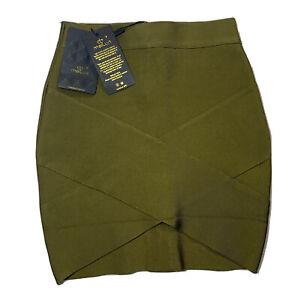meilun Bandage Mini Skirt SZ XS Stretch NWT