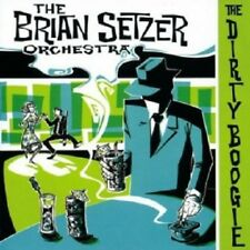 BRIAN SETZER ORCHESTRA-THE DIRTY BOOGIE CD 13 TRACKS ROCKABILLY/ROCK'N'ROLL NEW+